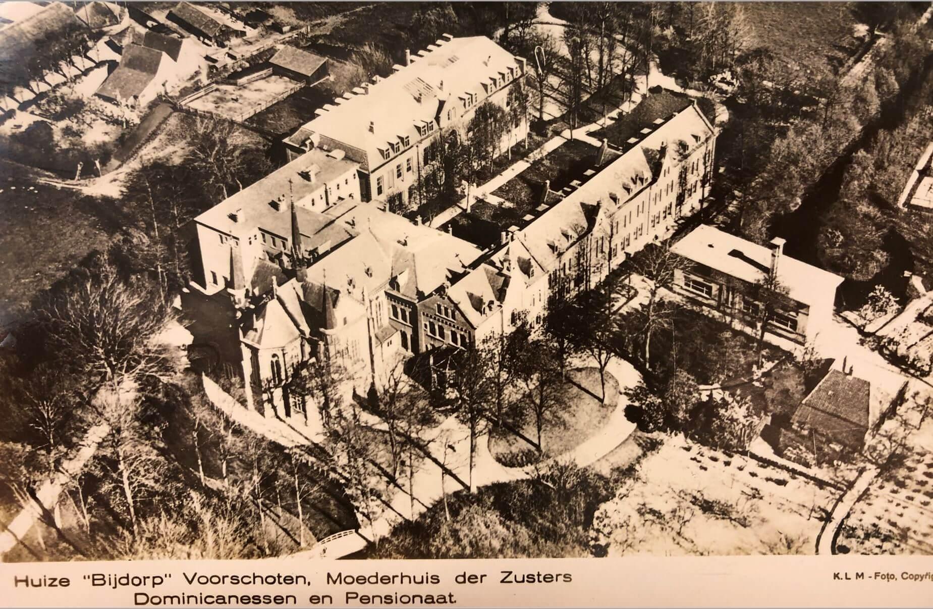Luchtfoto Bijdorp gebouwen